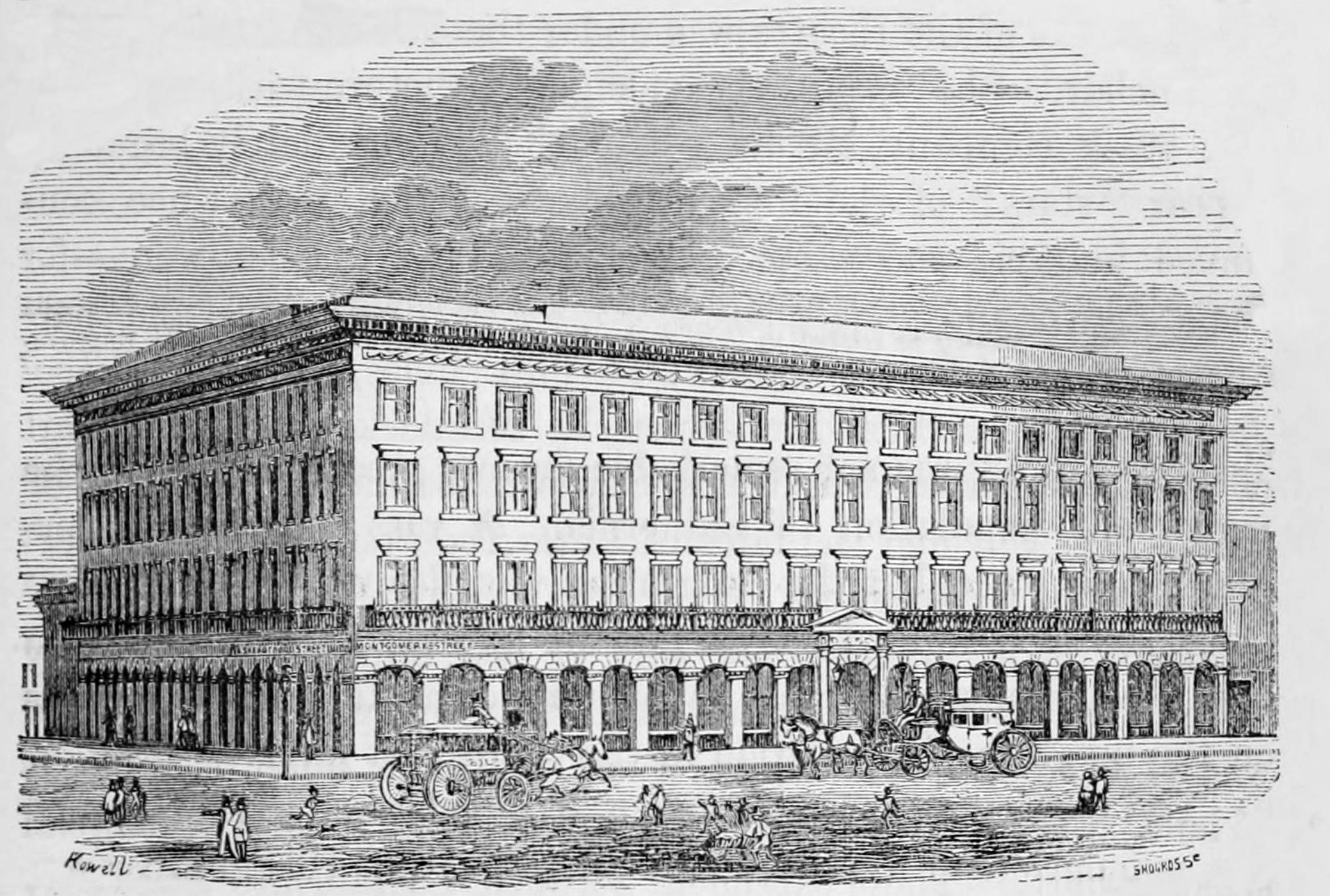 Image credit: Annals of San Francisco, 1855